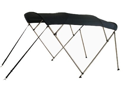 Rayda Bimini Top (4-Bow) with Support Poles & Boot